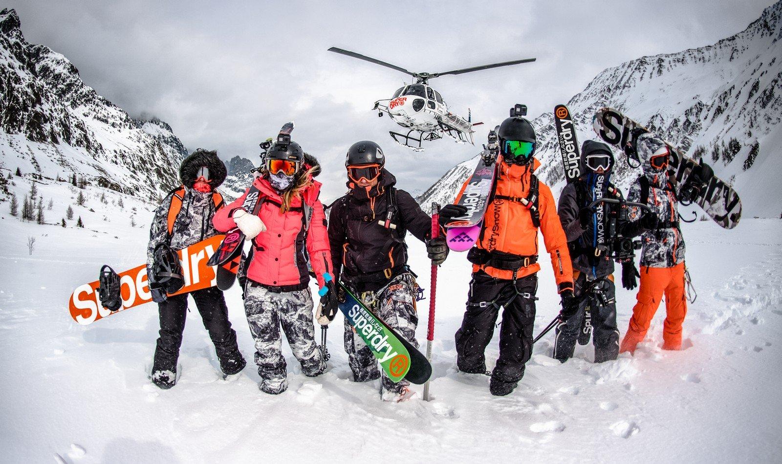 Superdroge skikleding