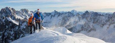 ski-uitrusting voor bergbeklimmen